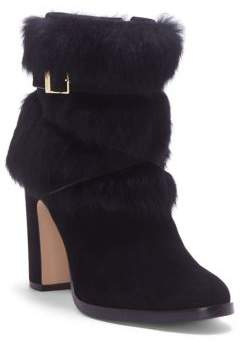 Louise et Cie Yuma Rabbit Fur Harness Booties