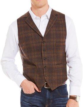 Daniel Cremieux Travis Wool Tartan Tailored Vest