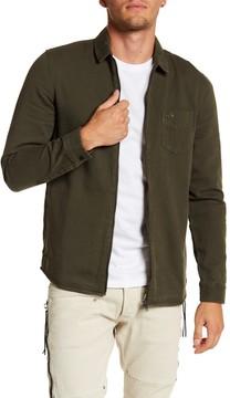 Globe Dion Magnus Long Sleeve Zip-Up Standard Fit Shirt