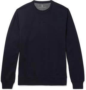Brunello Cucinelli Cotton-Blend Jersey Sweatshirt