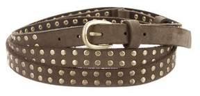 Zadig & Voltaire Studded Wrap Belt