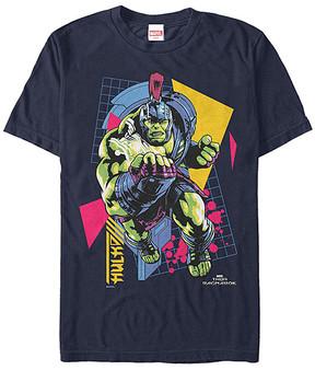Fifth Sun Thor Ragnarok Navy Retro Hulk Tee - Men