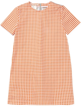 Marni All Over Grid Dress