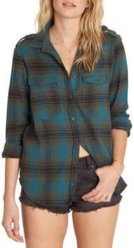 Billabong Women's Venture Out Flannel Shirt
