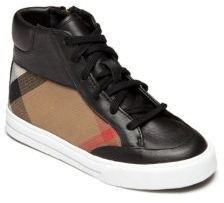 Burberry Baby's, Toddler's & Kid's Haypark Check High-Top Sneakers