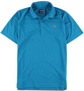 Lacoste Mens Performance Rugby Polo Shirt Green M