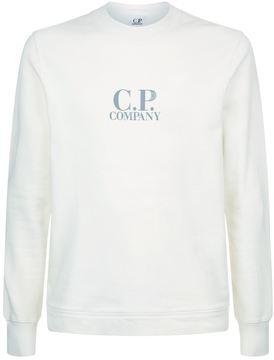 C.P. Company Logo Crew Neck Sweatshirt