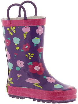 Western Chief Purple & Pink Floral Rain Boot