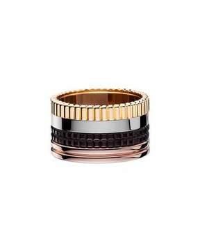 Boucheron Classic Quatre 18k Gold Large Band Ring, Size 55