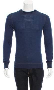 Christian Dior Virgin Wool Crew Neck Sweater