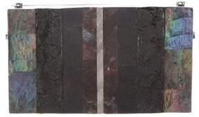 Lanvin Marble Frame Clutch