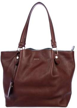 Tod's Pleated Leather Tote
