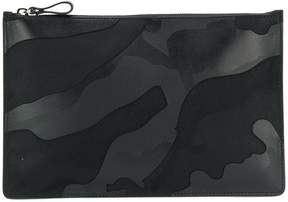 Valentino tonal camouflage clutch