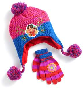 Disney Disney's Elena of Avalor Girls 4-16 Fleece-Lined Knit Hat & Gloves Set