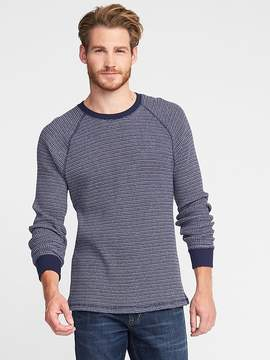 Old Navy Premium Waffle Long-Sleeve Tee for Men
