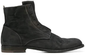 Officine Creative zipped fitted boots