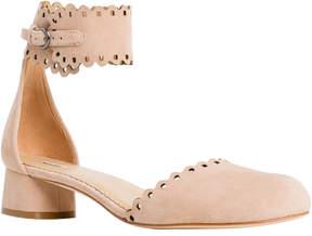 Max Studio apery : soft suede low heel shoes