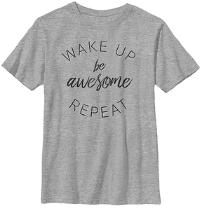 Fifth Sun Athletic Heather 'Wake Up Be Awesome' Crewneck Tee - Youth