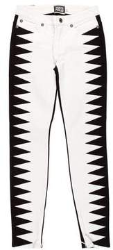 Fausto Puglisi Mid-Rise Skinny Jeans