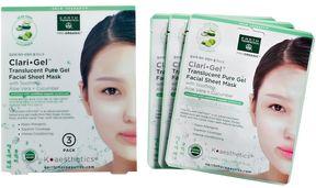 Earth Therapeutics Aloe Vera & Cucumber Moisturizing Gel Face Mask