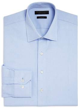 Bloomingdale's The Men's Store at Textured Dot Slim Fit Dress Shirt - 100% Exclusive