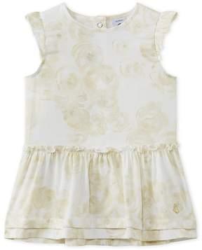 Petit Bateau Baby girl's print satin dress