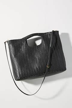 Deux Lux Cara Woven Crossbody Bag