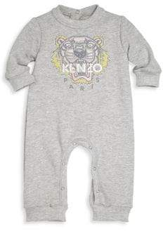 Kenzo Baby's Tiger Embroidered Romper