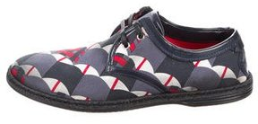 Dolce & Gabbana Distressed Espadrille Derby Shoes w/ Tags