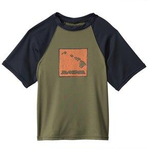 Dakine Boys' H2OBoy Short Sleeve Surf Shirt (6-12) - 8131637