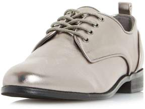 Head Over Heels *Head Over Heels By Dune Grey 'Gretta' Pewter Flat Shoes