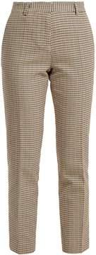 Vanessa Bruno Moustique checked cotton trousers
