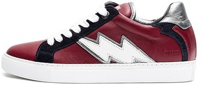 Zadig & Voltaire Women's Zv1747 Flash Leather Sneakers