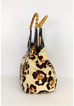 Kate Spade Animal Print w/ Bamboo Bag