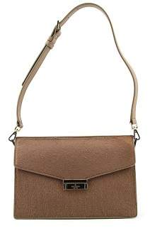 Kate Spade Parker Street Luxe Brielle Women Brown Satchel - WARM PUTTY - STYLE
