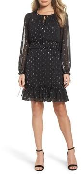 Chelsea28 Women's Metallic Smocked Dress