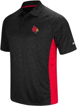 Colosseum Men's Louisville Cardinals Wedge Polo