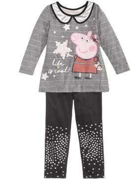 Peppa Pig 2-Pc. Tunic & Leggings Set, Toddler Girls (2T-5T)