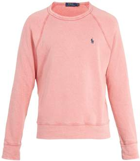 Polo Ralph Lauren Logo-embroidered crew-neck cotton sweatshirt