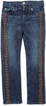 7 For All Mankind Embroidered Girls Jeans