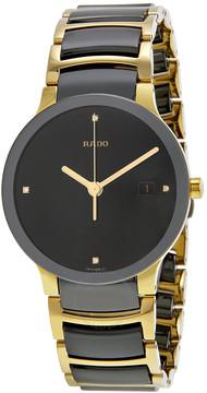Rado Centrix Jubile Black Ceramic Men's Watch