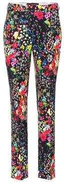 Etro Printed high-rise trousers