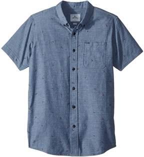 Rip Curl Kids Northern Short Sleeve Shirt Boy's Clothing