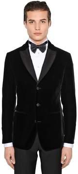 Giorgio Armani Ginza Stretch Velvet Tuxedo Jacket