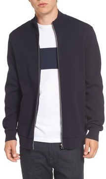 French Connection Men's Lakra Zip-Up Sweater