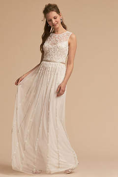 Anthropologie Eliza Wedding Guest Dress