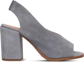 Carvela Arlo peep-toe suede court shoes