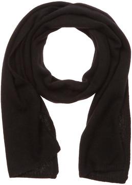 Portolano Women's Black Cashmere Scarf