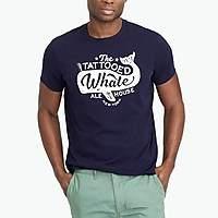 J.Crew Factory J.Crew Mercantile Broken-in tattooed whale T-shirt