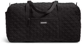 Vera Bradley Large Quilted Duffel - BLACK - STYLE